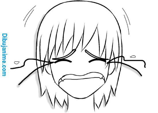 Como dibujar Expresiones del rostro anime