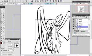 Como dibujar Anime en la PC (Computadora) Programa Manga