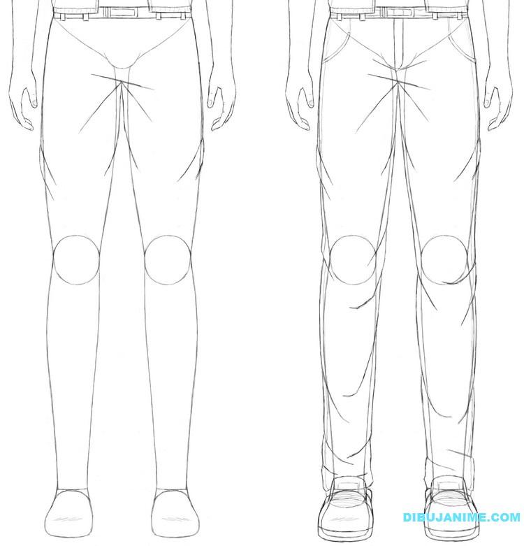Como dibujar a un Hombre anime (rostro y cuerpo) Pasó a paso ...